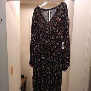 Vintage floral jumpsuit